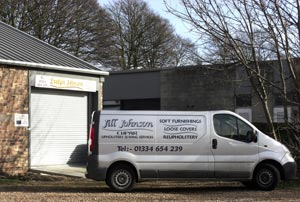 Cupar premises and hang and fit transport.